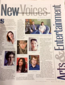 Ithaca New Voices Newspaper